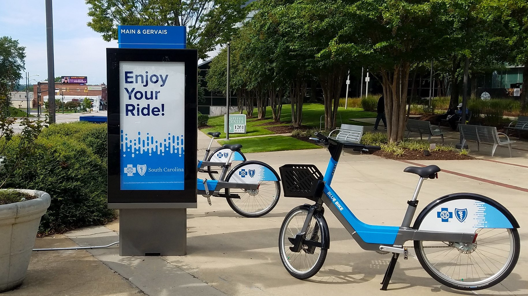 Corps Logistics to Serve South Carolina Bike Share Program